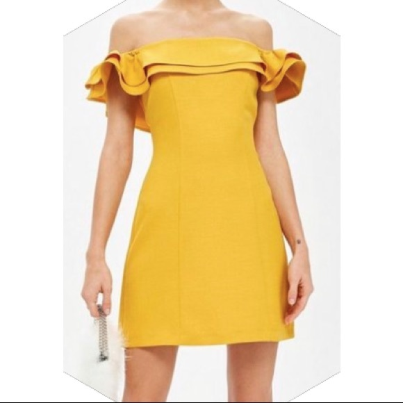 Top shop ruffle dress